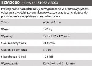 OPIS NITOWNICA NIT PNEU EZM 2000 4,0 - 6,4